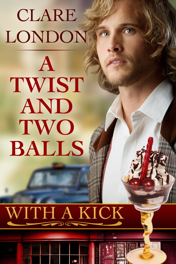 A Twist and Two Balls front cover.