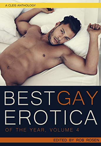 Best Gay Erotica volume 4 front cover.