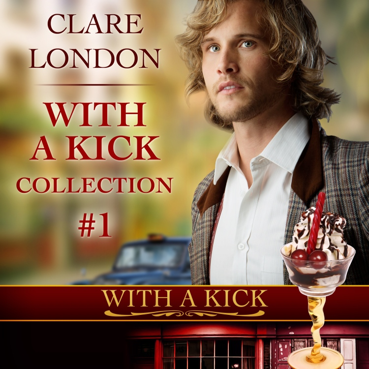 With a Kick Collection 1 audiobook cover.