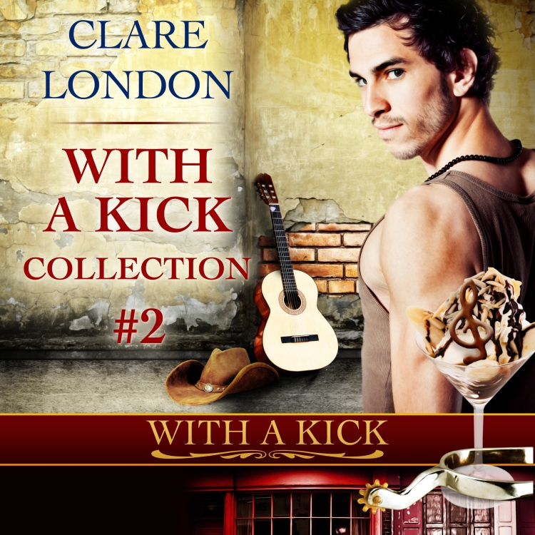 With A Kick Collection 2 audiobook cover.