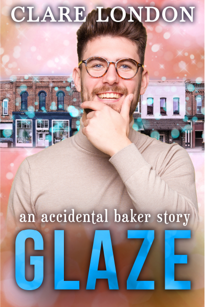 Glaze front cover.