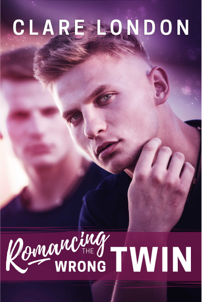 Romancing The Wrong Twin front cover.