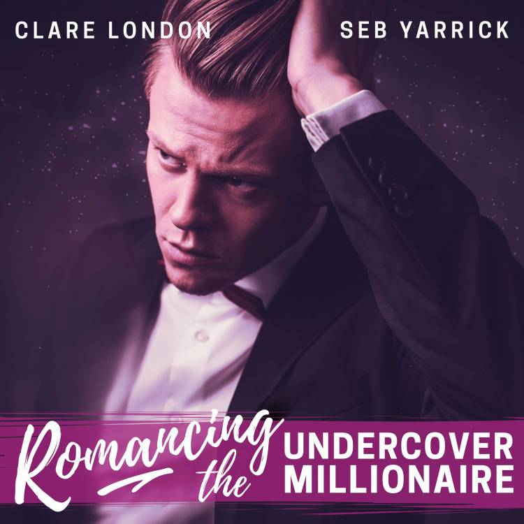 Romancing the Undercover Millionaire audiobook cover.